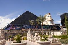 Luxor-Hotel und -kasino in Las Vegas, Nevada Stockbilder