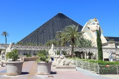 Luxor Las Vegas Stock Photography