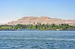 Luxor Nil Stock Image