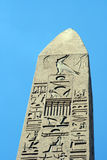 Luxor obelisk closeup Stock Photography
