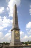 Luxor Obelisk. Paris, France. View of Luxor Obelisk. Paris, France Royalty Free Stock Image