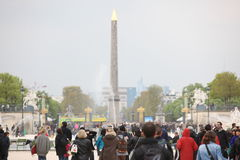 Luxor Obelisk and triumphal arch from Stock Photos