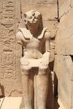 luxor pharaoh statua Zdjęcia Royalty Free