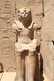 Luxor Pharaoh statue Royalty Free Stock Photos