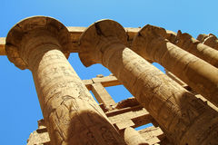 Luxor pillar Stock Photo