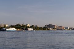 Luxor on River Nile Egypt Royalty Free Stock Image