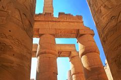 Luxor Ruins Royalty Free Stock Images