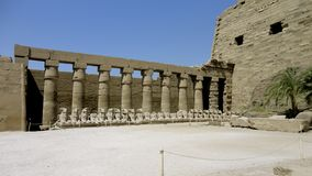 Luxor. The ruins of ancient Egypt in Luxor stock images