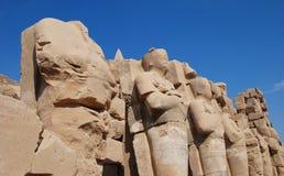 Luxor's inhabitants Stock Photos