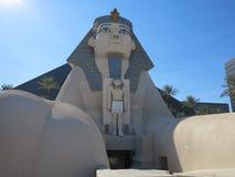 Luxor sfinx Royaltyfria Foton