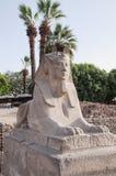 luxor sphinx Royaltyfri Foto