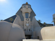 Luxor-Sphinx Lizenzfreie Stockfotos