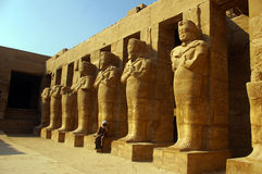 Luxor-Tempel. Stockfotos