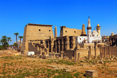 Luxor-Tempel Lizenzfreies Stockfoto