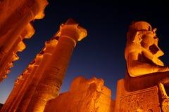 luxor tempel Royaltyfria Foton