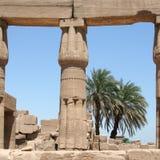 luxor tempel Arkivbilder