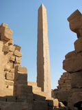 Luxor tempelobelisk Arkivfoton