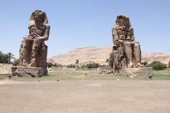 Luxor Temple мимо Стоковая Фотография