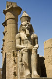 Luxor temple. Details of Egyptian art. An example of the art of the pharaohs Royalty Free Stock Images