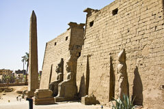 Luxor temple. Details of Egyptian art. An example of the art of the pharaohs Stock Photo