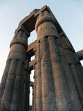 Luxor Temple. Collonade at the Luxor Temple, Egypt Stock Photos