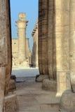 Luxor temple Stock Image