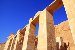 Luxor Temple. The temple in Luxor Royalty Free Stock Photography