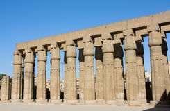 Luxor temple Royalty Free Stock Photography