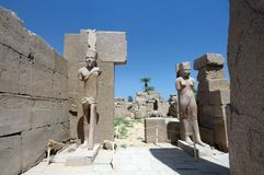 Luxor Temple in Egypt Royalty Free Stock Images