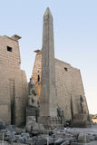 Luxor Temple in Egypt Stock Images