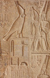 Luxor temple Hieroglyphic. A photography of an old historic place in Luxor Egypt Hieroglyphic royalty free stock image