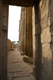 Luxor temple holy court Royalty Free Stock Photography