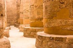 Luxor Temple, Karnak, Египет стоковые фото