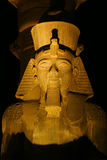 Luxor Temple. At night . city of luxor - Egypt Royalty Free Stock Image