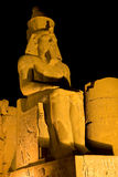 Luxor Temple by night Stock Photos