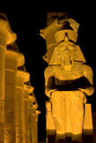 Luxor Temple by night Stock Image