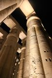 Luxor Temple - Night view. Night view of Luxor Temple with night lights, Egypt Royalty Free Stock Photography