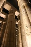 Luxor Temple - Night view. Night view of Luxor Temple with night lights, Egypt Stock Image