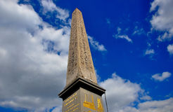 Luxor Temple, Place de la Concorde, Paris royalty free stock photography
