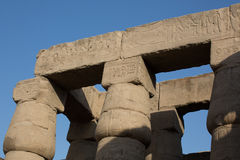 Luxor temple Royalty Free Stock Photos