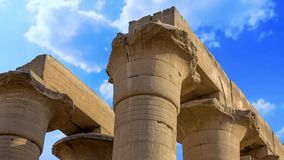 Luxor temple stock video footage