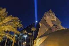 Luxorhotel in Las Vegas, NV op 31 Mei, 2013 Stock Afbeelding