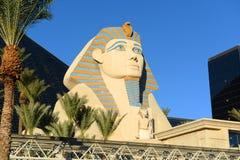 Luxortoevlucht en Casino, Las Vegas, NV Stock Fotografie