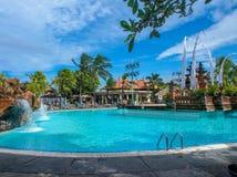 Luxory and sunny vacation Stock Photo