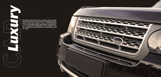 Luxry Auto Stockfoto