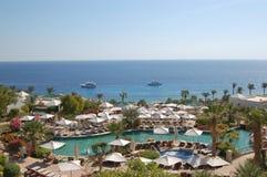Luxueus hotel in de Sjeik van Sharm Gr, Egypte Stock Afbeelding