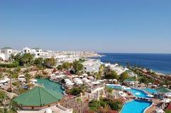Luxueus hotel in de Sjeik van Sharm Gr, Egypte Royalty-vrije Stock Foto's