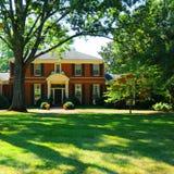 Luxueus huis Nashville royalty-vrije stock afbeelding