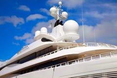 Luxueus jacht Royalty-vrije Stock Afbeeldingen