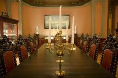 Luxueus oud binnenland Royalty-vrije Stock Afbeeldingen